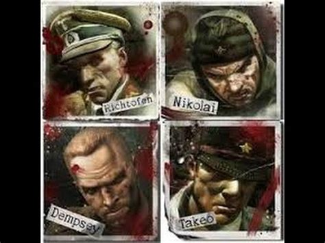black ops zombies  zombies character   call