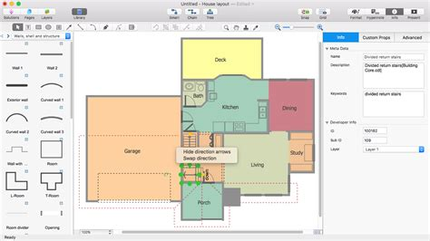 how to floor plans create a visio floor plan conceptdraw helpdesk