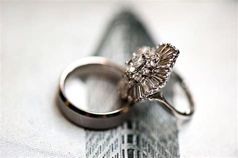sparkling engagement rings from real junebug brides
