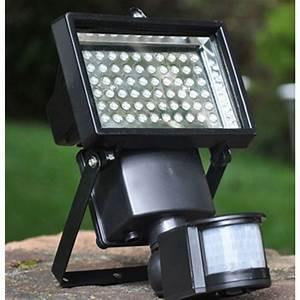 Projecteur Led Detecteur : projecteur led ext rieur solaire avec d tecteur lux et d co ~ Carolinahurricanesstore.com Idées de Décoration