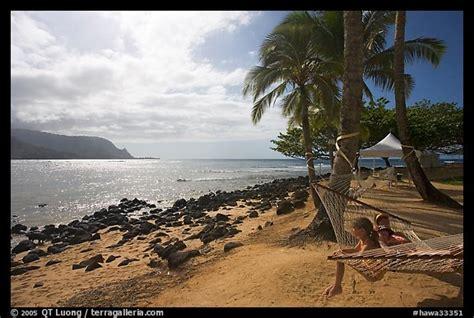 Hammock Poa by Picture Photo Family On Hammock Puu Poa Kauai