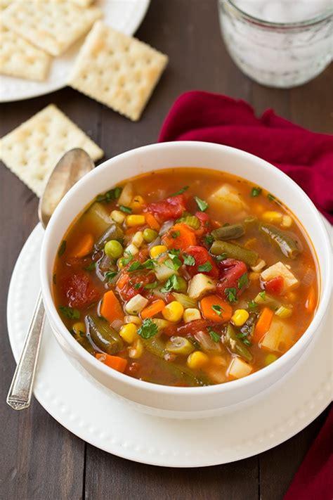 vegetable soup vegetable soup cooking classy bloglovin