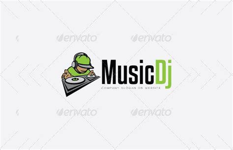 Dj Logo Photoshop Template by 20 Dj Logos Free Editable Psd Ai Vector Eps Format