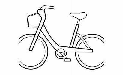 Gambar Hitam Sepeda Putih Kartun Clipart Populer