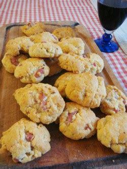 canape apero facile et rapide recette biscuits apéro maison parmesan lardon