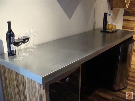 zinc countertop guest bath kitchen interior interior