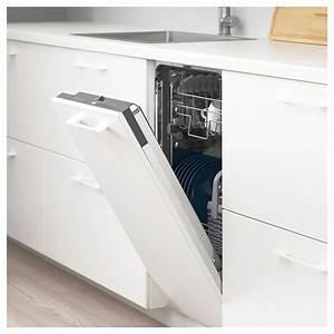 Façade Lave Vaisselle Encastrable : medelstor lave vaisselle encastrable gris ikea ~ Dailycaller-alerts.com Idées de Décoration