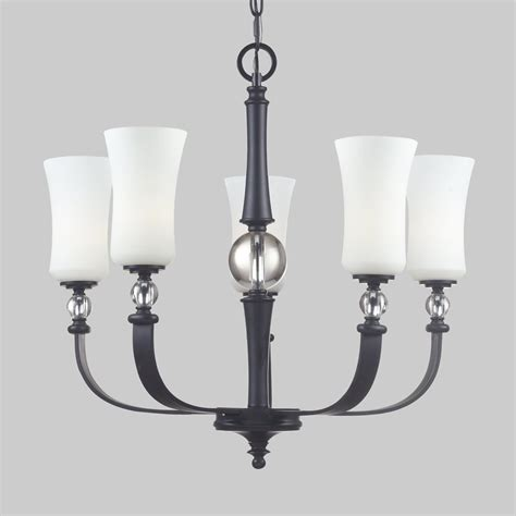 black shaded chandelier shop z lite harmony 26 in 5 light matte black wrought iron