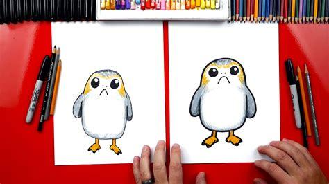 draw  porg  star wars artist spotlight art