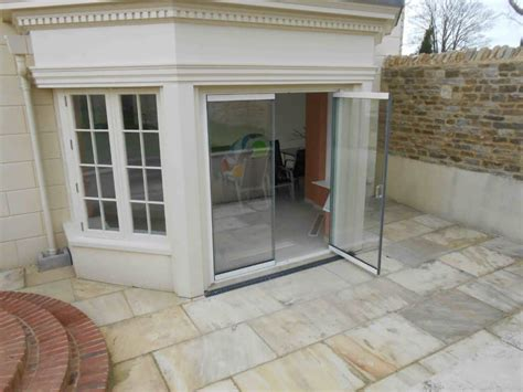 frameless glass patio doors oxford  frameless glass bi