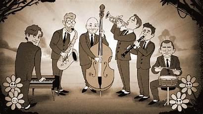 Jazz Cartoon Band Cartoonists Queen York Queens