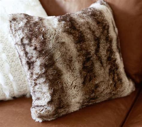 Beaded Ombre Pillow Cover Pottery Barn Living Room by Faux Fur Pillow Cover Caramel Ombre Pottery Barn