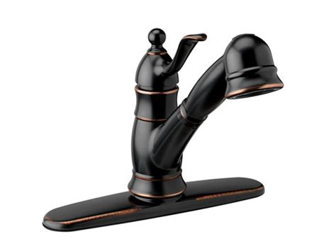 brushed bronze kitchen faucets poetto kitchen faucet brushed bronze
