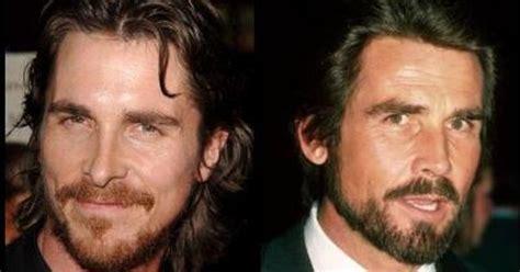 Christian Bale Totally Looks Like James Brolin Look