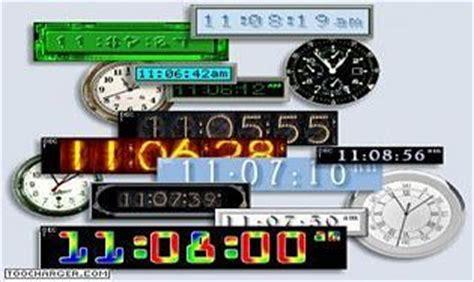 horloge bureau windows xp logiciel horloges télécharger des logiciels pour windows bureautique horloges page 3