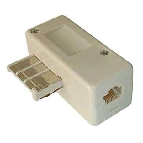 prise telephone rj11 lot de 2 adaptateur prise t 233 l 233 phone rj11 deuxi 232 me