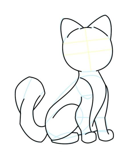 drawing  cartoon cat