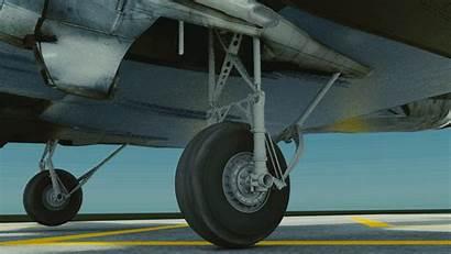 Landing Gear Retract Plane Glasses Rigging