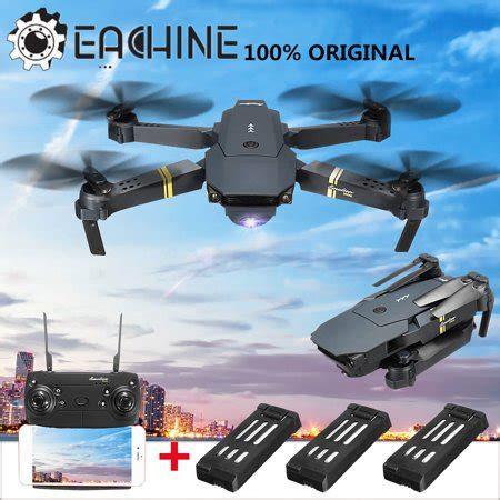 eachine  wifi fpv foldable arm drone quadcopter high