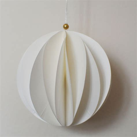 white paper christmas decorstions set of 6 white paper geometric tree decorations oates co