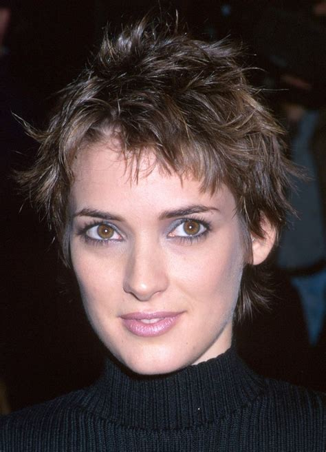 winona ryder short hair styles short hair styles pixie hair today