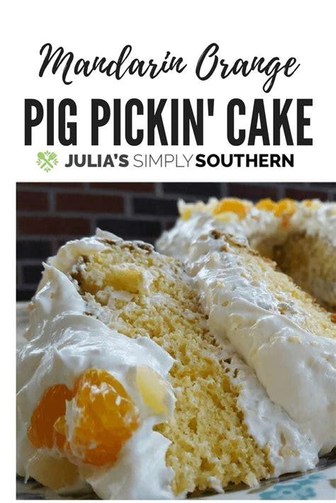 mandarin orange pineapple pig pickin cake dessert