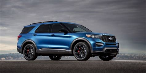ford explorer st revealed   hp explorer