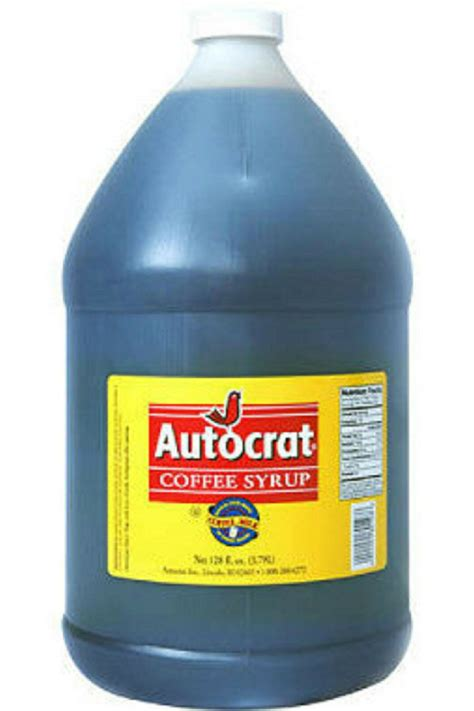Coffee syrup is a rhode island thing. Details about 1 Gallon AUTOCRAT Coffee Syrup Rhode Island! for Coffee Milk Drink (With images ...
