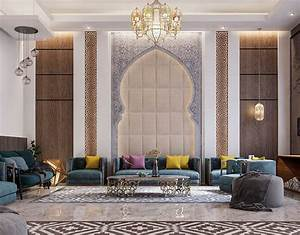 Islamic, Private, Villa, Uae, On, Behance