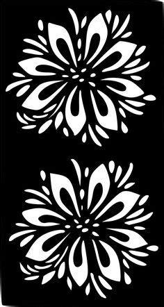 Henna Temporary Tattoo Body Art Sticker Stencil | Colorful