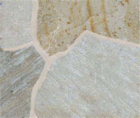 golden white quartzite random sized flagstone