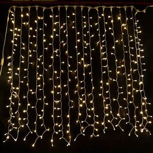 Buy Warm White 2M x 2M Connectable LED Curtain Light of