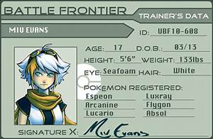 Trainer Card By Adcacai On Deviantart