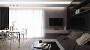 Light Und Living : black living rooms ideas inspiration ~ Eleganceandgraceweddings.com Haus und Dekorationen