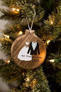 Diy, Our, First, Christmas, Ornament