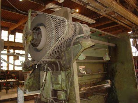 ton cincinnati series  mechanical press brake