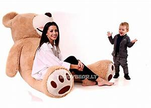 Teddybär Xxl Günstig : riesen teddyb r 200 cm xxl teddy 2m hellbraun xxl ~ Orissabook.com Haus und Dekorationen
