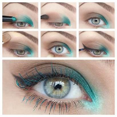 Makeup Eye Tutorial Tutorials Trends Teal Turquoise