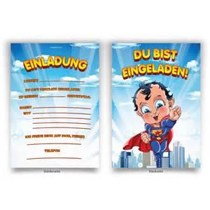einladungskarten design quot superheld quot kindergeburtstag einladungskarten bestellen kartenecke de