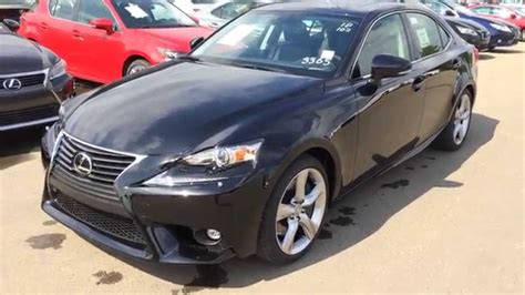 2015 Lexus Is 350 Awd Luxury Package Review In Black