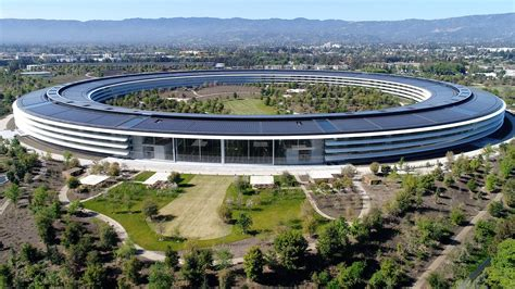 Apples Headquarters New Pictures by Apple Park Headquarters Parking Garages Custom Metal