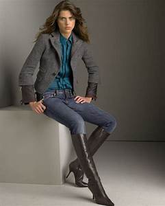 How to wear jeans with boots this winter 2018