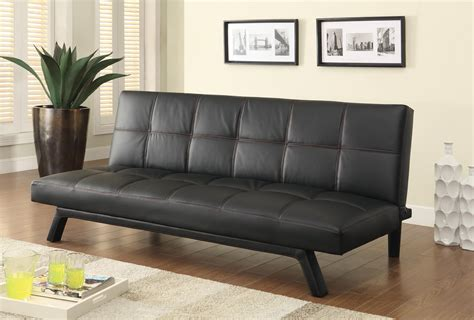 Sofa Beds And Futons Contemporary Sofa Bed In Black