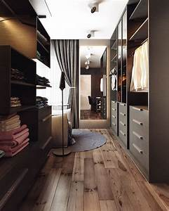Walk In Closet : two homes with elegant decor and neutral colors ~ Watch28wear.com Haus und Dekorationen