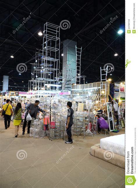 thailand furniture fair editorial stock image image