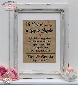 16th wedding anniversary gifts 16 years married 16 years With sixteenth wedding anniversary gifts