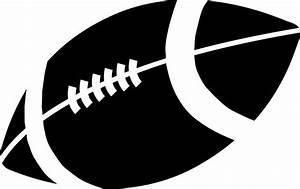 American Football Vector Black And White | Clipart Panda ...