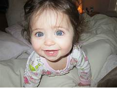 Baby Girls With Brown Hair And Blue Eyes Here s my blue eyed girl   Cute Baby Girls With Brown Hair And Blue Eyes