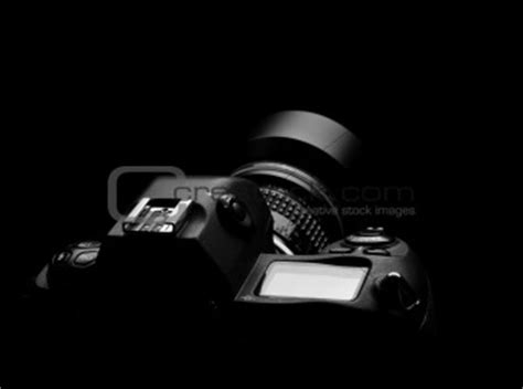 image  camera outline  black background