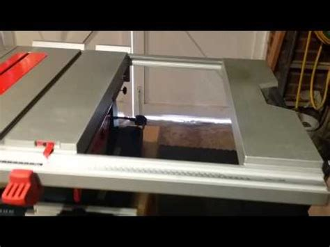 Bosch Gts10 Xc Table Saw Router Insert & Crosscut Sled